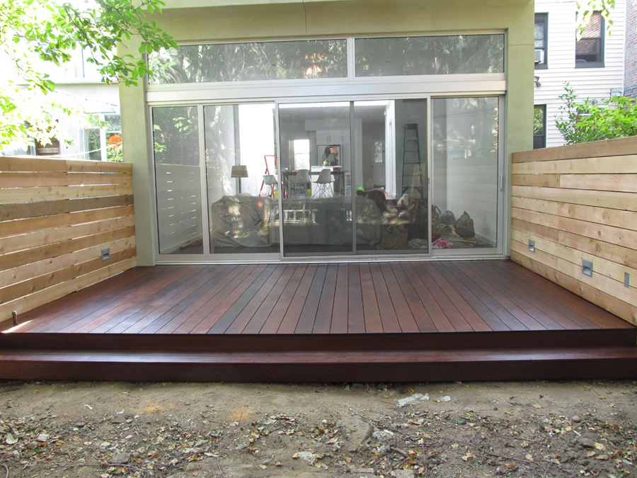 ipe deck cobble hill brooklyn