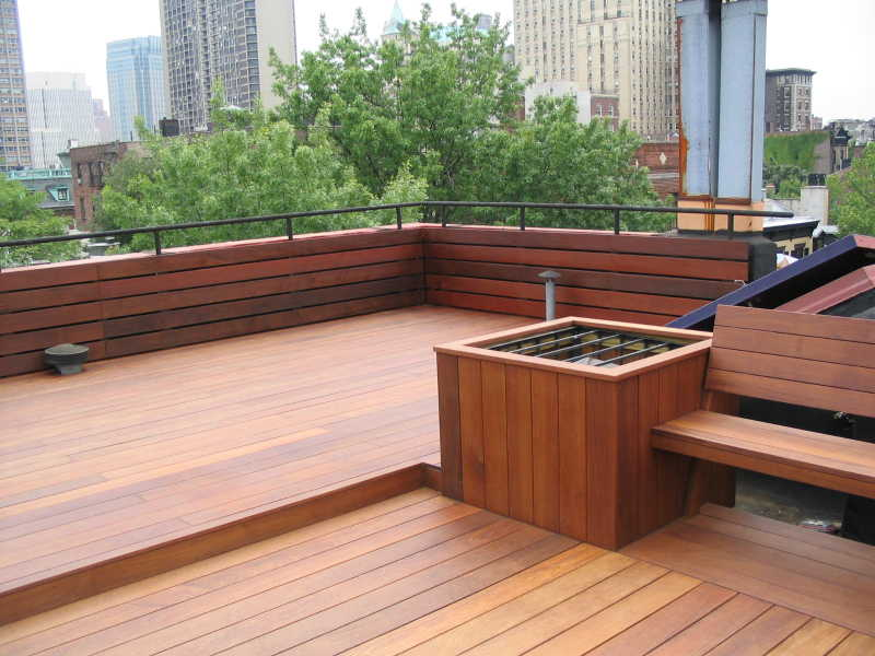 BROOKLYN HEIGHTS IPE ROOF DECK